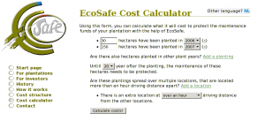 EcoSafe Cost Calculator