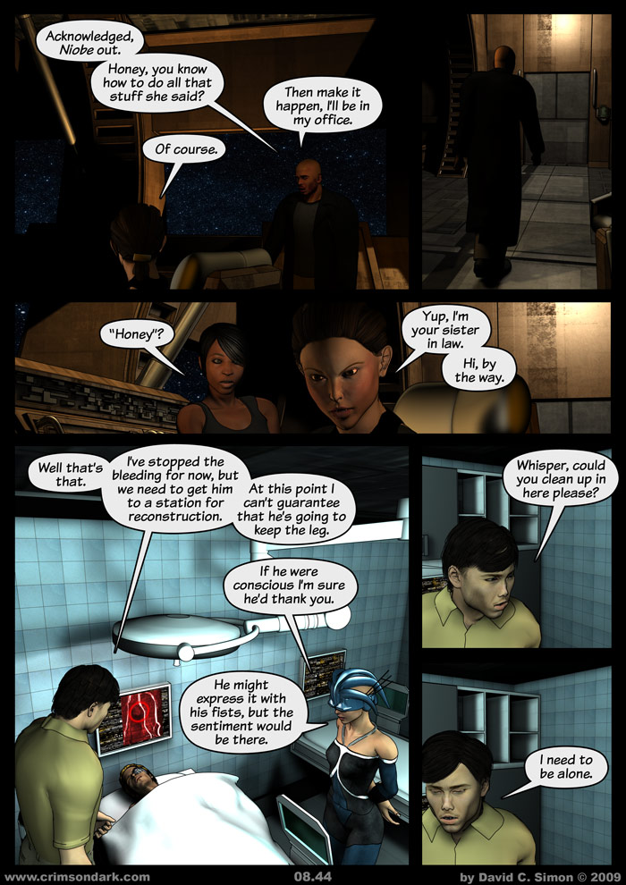 Crimson Dark comic for December 14, 2009